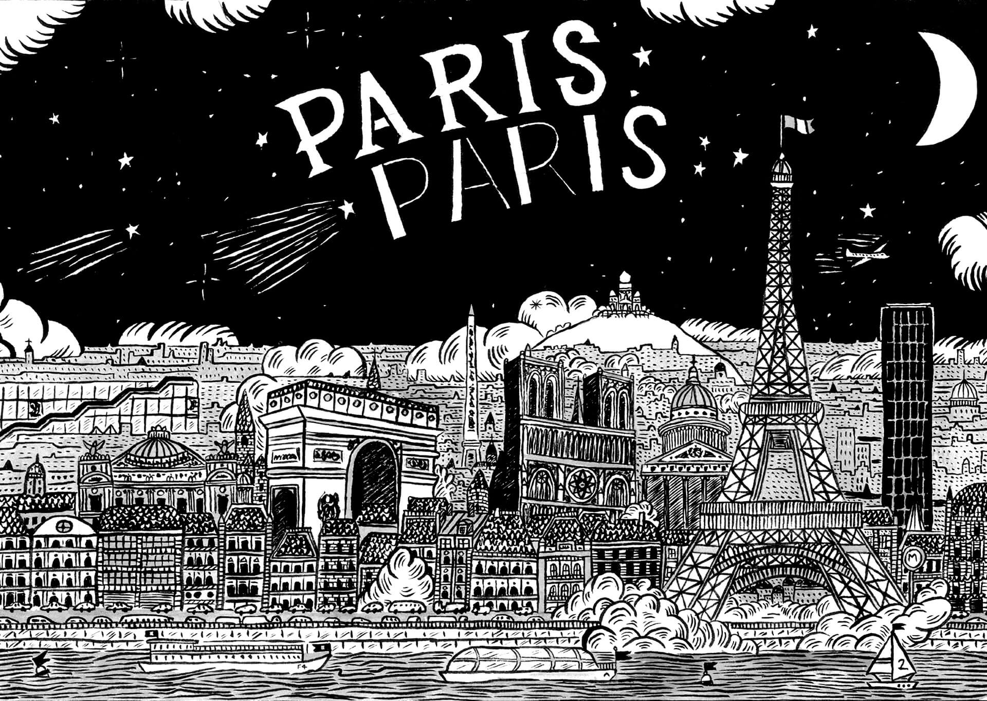 Paris Paris by Professor Inc