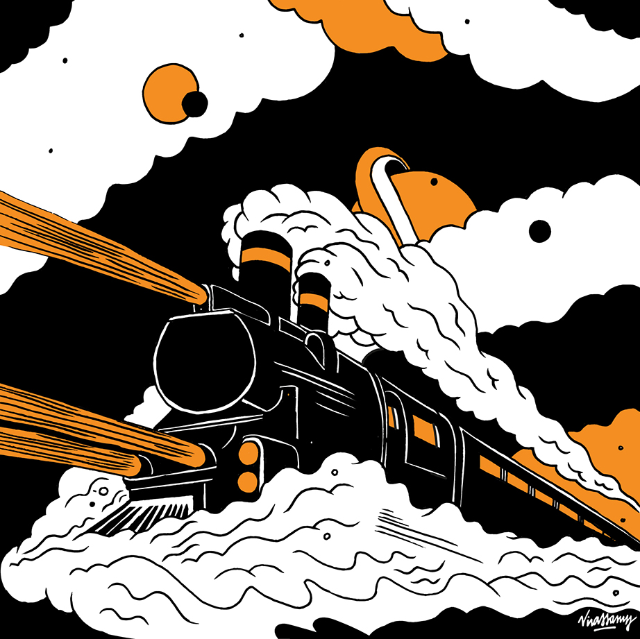 Galactic Railroad by Hdv